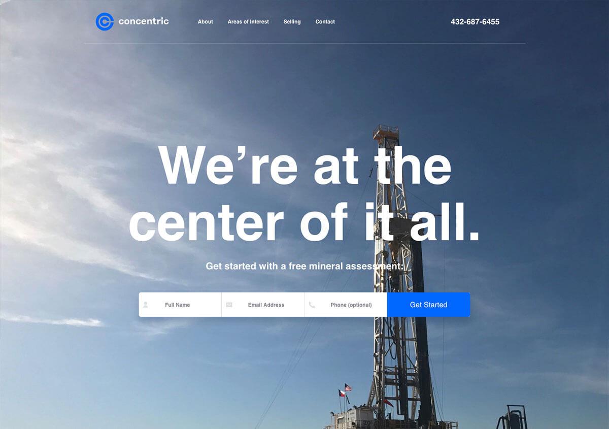 Concentric Oil
